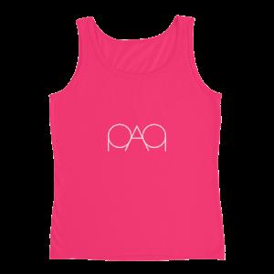 Womens Hot Pink PAQ Tank