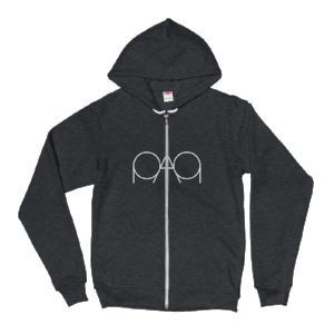 Womens Heather Grey PAQ Hoodie