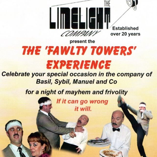 The Fawlty Towers experience is at The Anvil Inn Sawdon!  Join Basil, Sybil, Manuel and Company for a night of frivolity and mayhem.  A four course meal plus a night of fantastic entertainment is only £30 per person!  Tickets are on sale behind the bar so buy them now to avoid disappointment.  Call us on 01723 859896 or email us at info@theanvilinnsawdon.com for more information.