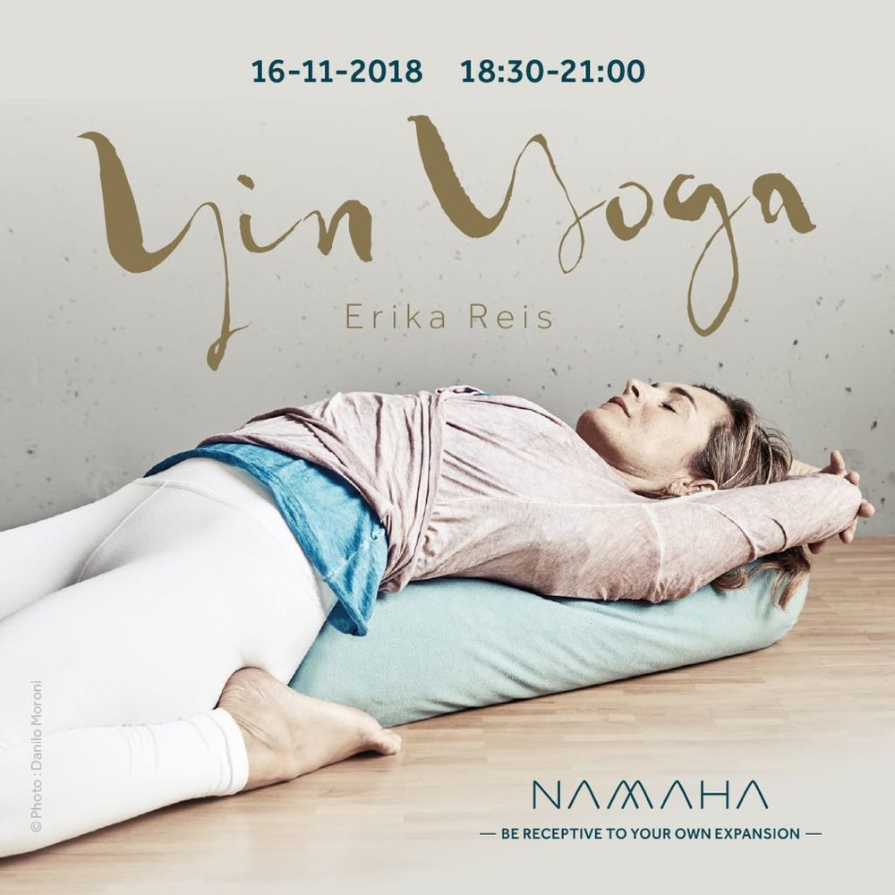 Erika Reis - Movement Explorer & Pilates and Yin yoga teacher at Namaha Geneva photo© Danilo Moroni