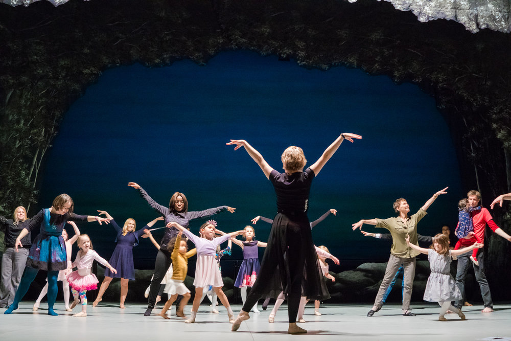 ENGLISH NATIONAL BALLET - SWAN LAKE WORKSHOP