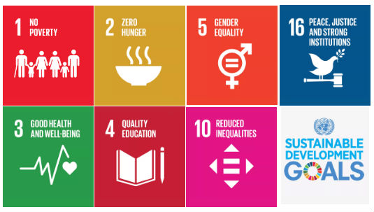 United nationsSUSTAINABLE DEVELOPMENT GOALS - LinkS to UN SDG 1, 2, 3, 4, 5, 10 & 16