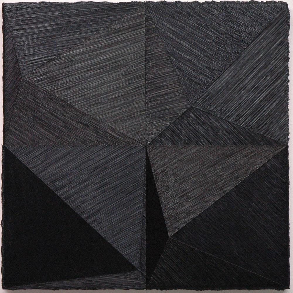 "39.2 ,2011 Oil on canvas, 19.685"" x 19.685"""
