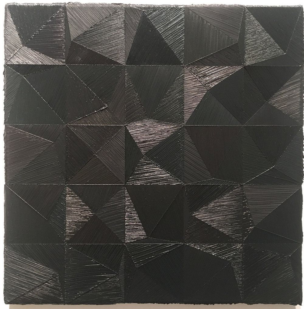 "39.7 ,2011 Oil on canvas, 19.685"" x 19.685"""