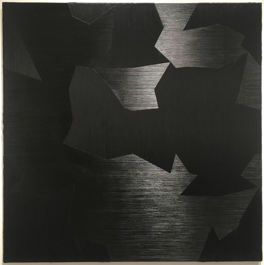 "39.18 ,2015 Oil on canvas, 59"" x 59"""