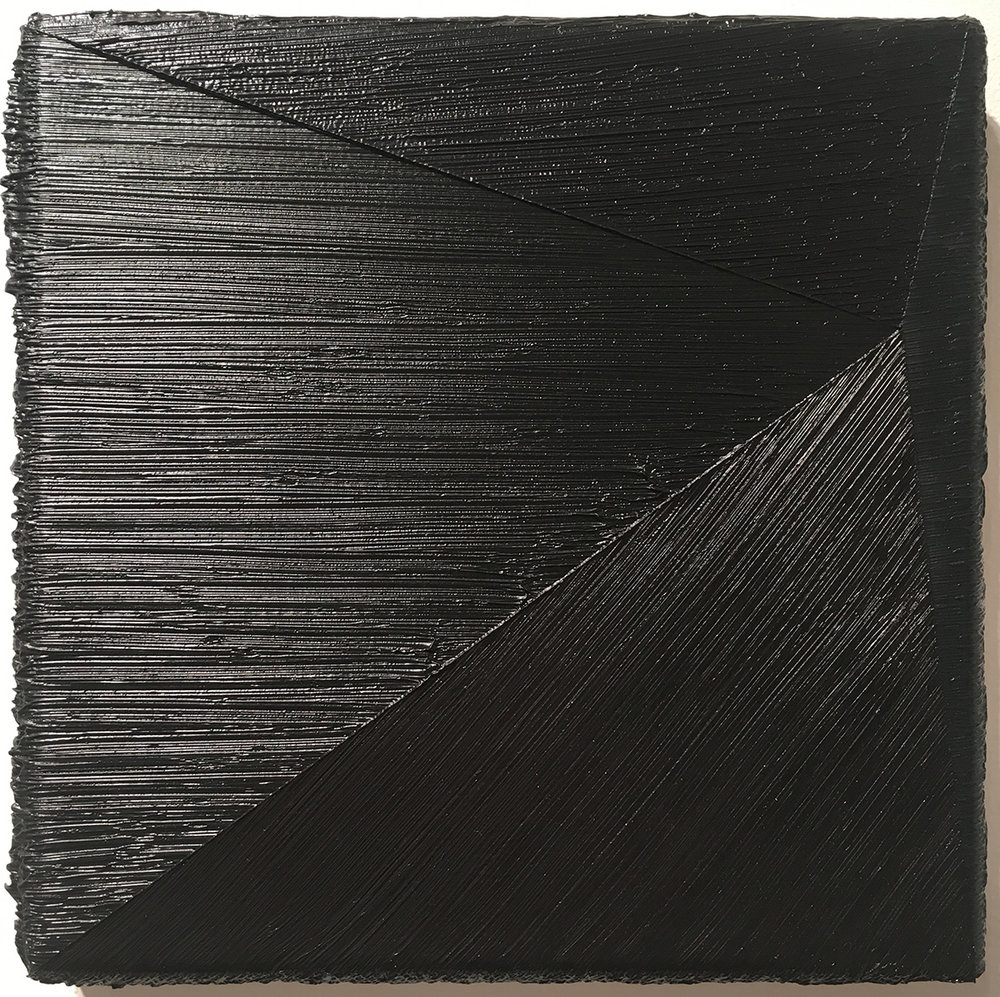 "Wouter Nijland, 39.12, 2011, Oil on canvas, 9.84"" x 9.84"""
