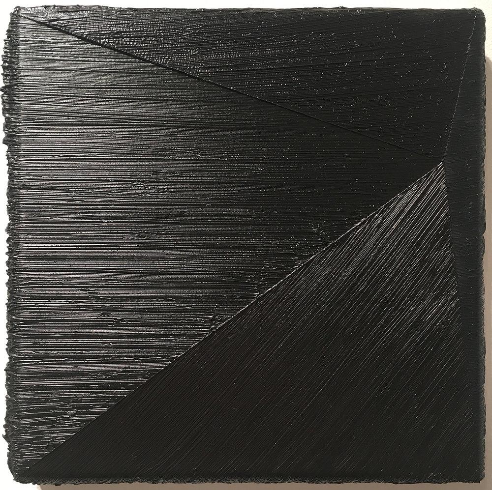 "39.12 ,2011 Oil on canvas, 9.84"" x 9.84"""