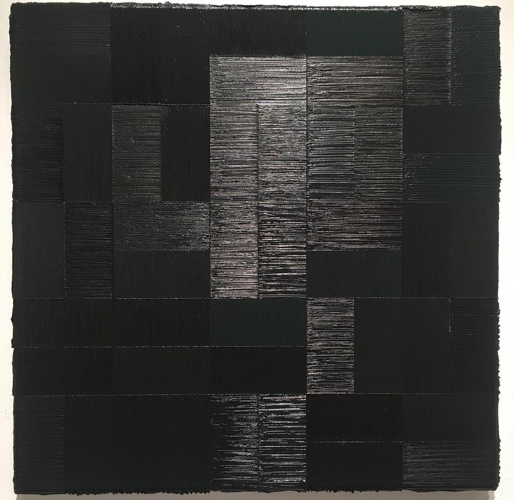 "45.1 ,2014 Oil on canvas, 19.685"" x 19.685"""