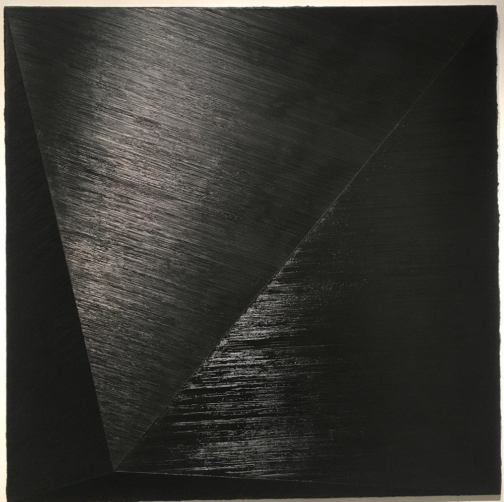 "47.1 , 2015 Oil on canvas, 59"" x 59"""