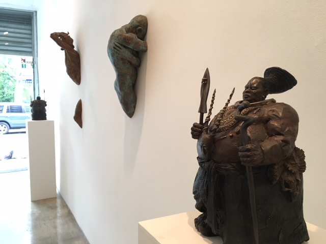 Installation view, Matteo Pugliese, The Guardians
