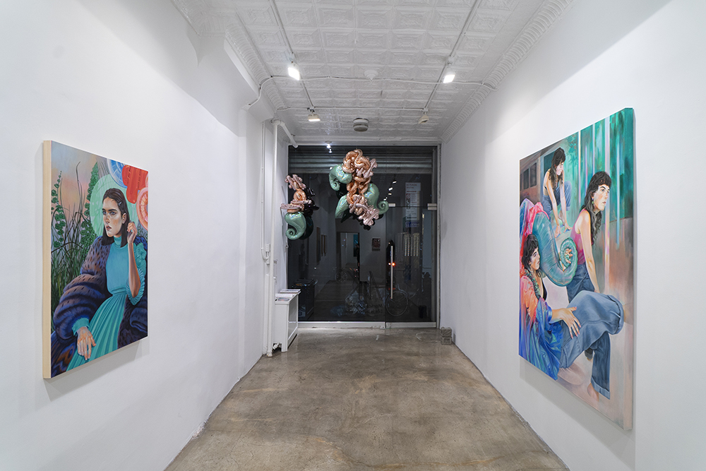 Installation view, Martine Johanna, Life is but a dream