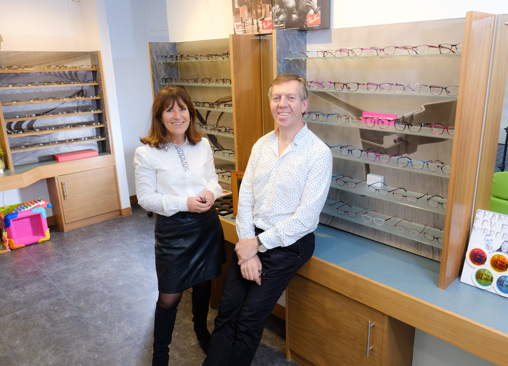 - Joy and David Abrahams opened Maltings Eyecare in 1993. Our philosophy is to provide the highest quality in Optometric services utilising the latest technology. We have invested heavily in the latest screening and scanning equipment to help provide an extremely thorough eye examination.