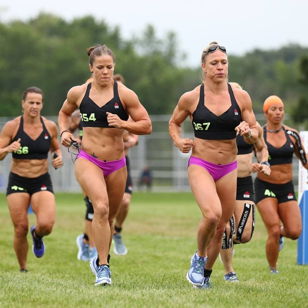 JENNA COMPETING AT THE 2017 CROSSFIT GAMES -