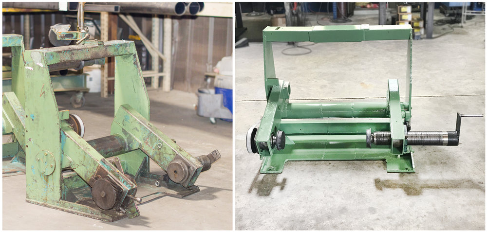 Complex Equipment Rebuild - When a piece of industrial equipment has passed its useful life expectancy and the cost for a replacement model from an OEM is prohibitive, we will reverse engineer the equipment and refurbish the equipment. We will upgrade the mechanical and electrical components to current industrial operating standards. This approach is substantially less than OEM costs and provides a platform for future rebuilds to maximize your productivity.