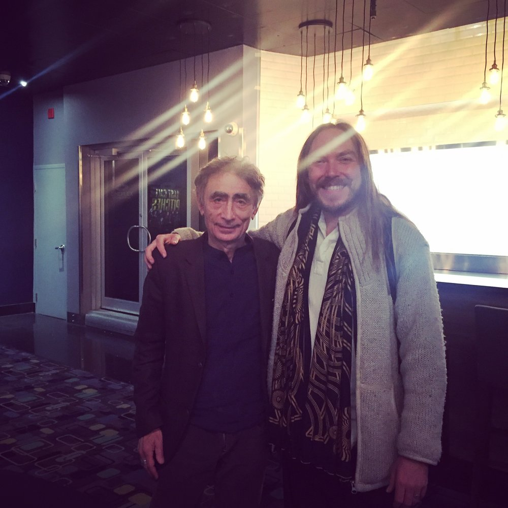 Darren with Gabor Maté -