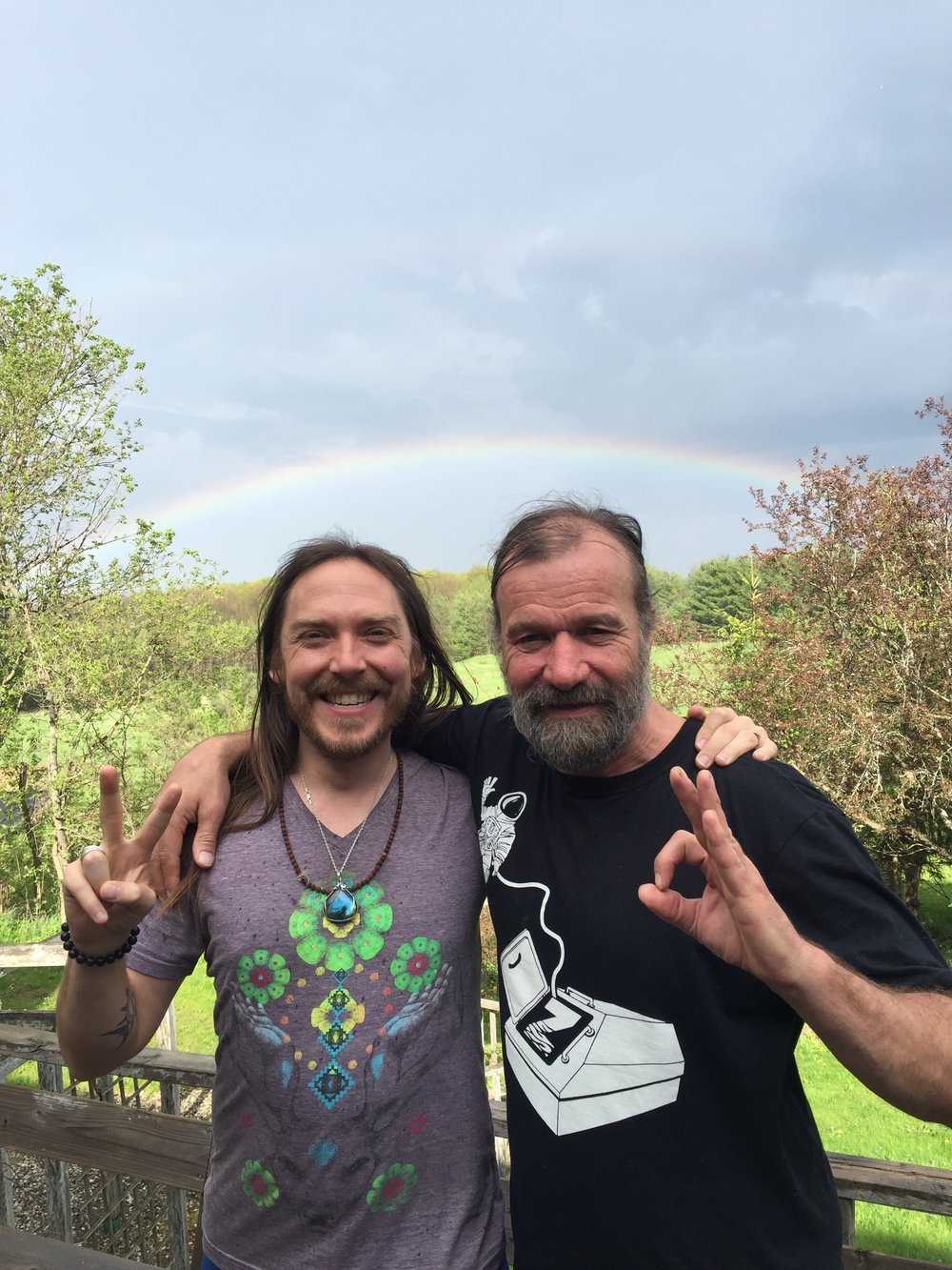 Darren and Wim Hof/the Iceman -