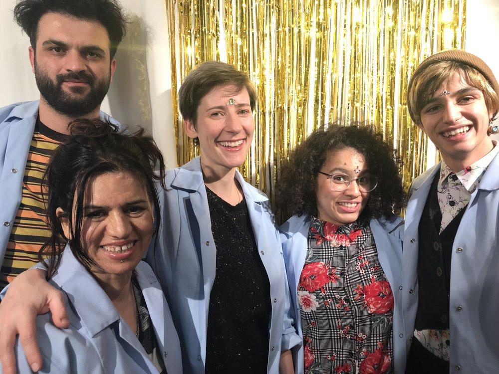Grand Beauty Crew Dresden – Naser, Farhanaz, Frauke, Daniela, Josef und einige mehr