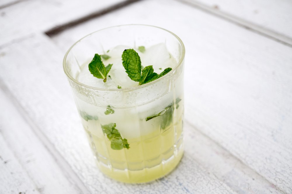 Cucumber Mint Fresca - with mint, honeydew and lime