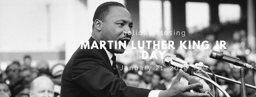 Martin Luther King Jr Day Holiday Closing Post Office Employees