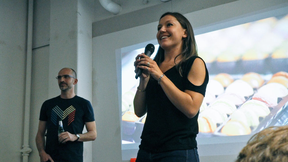 Jam organizer Mathilde Leo is always eager to hear others' stories to improve the way she gets things done.
