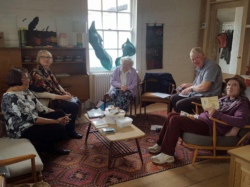 Poetry Circle - A social group for adults interested in poetry to share their poems and find inspiration for new poems.