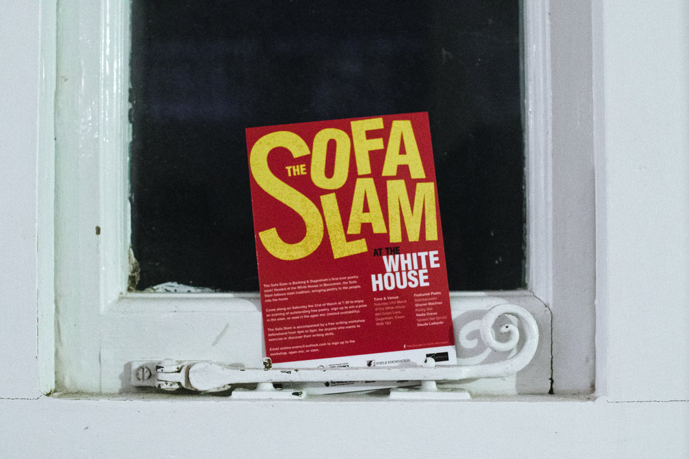 The Sofa Slam at the White House
