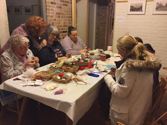 Textiles Workshop - A fun and social way to learn new skills and create beautiful fabric crafts, with local artist Laouami.