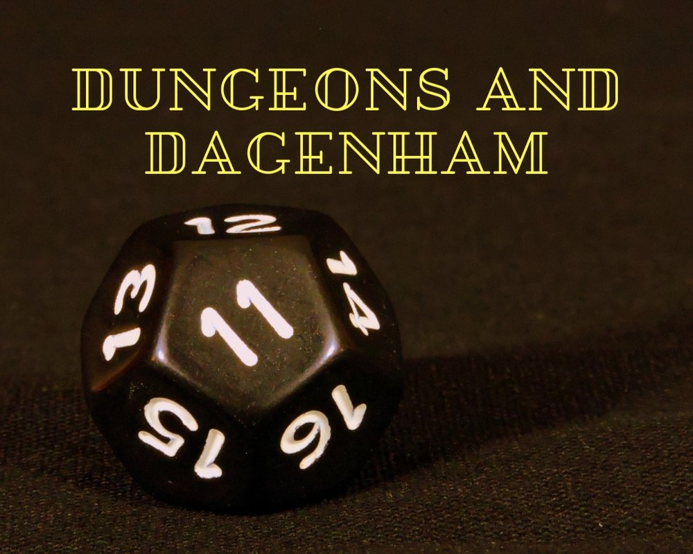 Dungeons and Dagenham - Free Youth Group for 13-18 year olds to play tabletop games such as Dungeons and Dragons and design community projects
