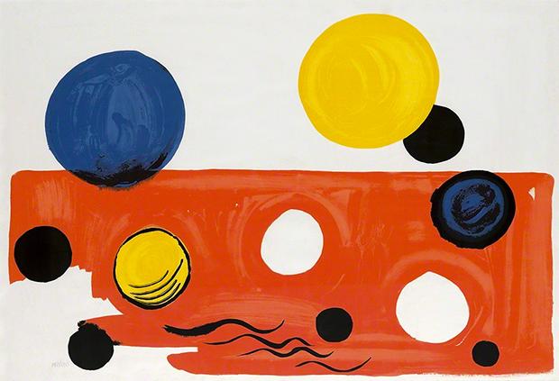 Landscape,  Alexander Calder