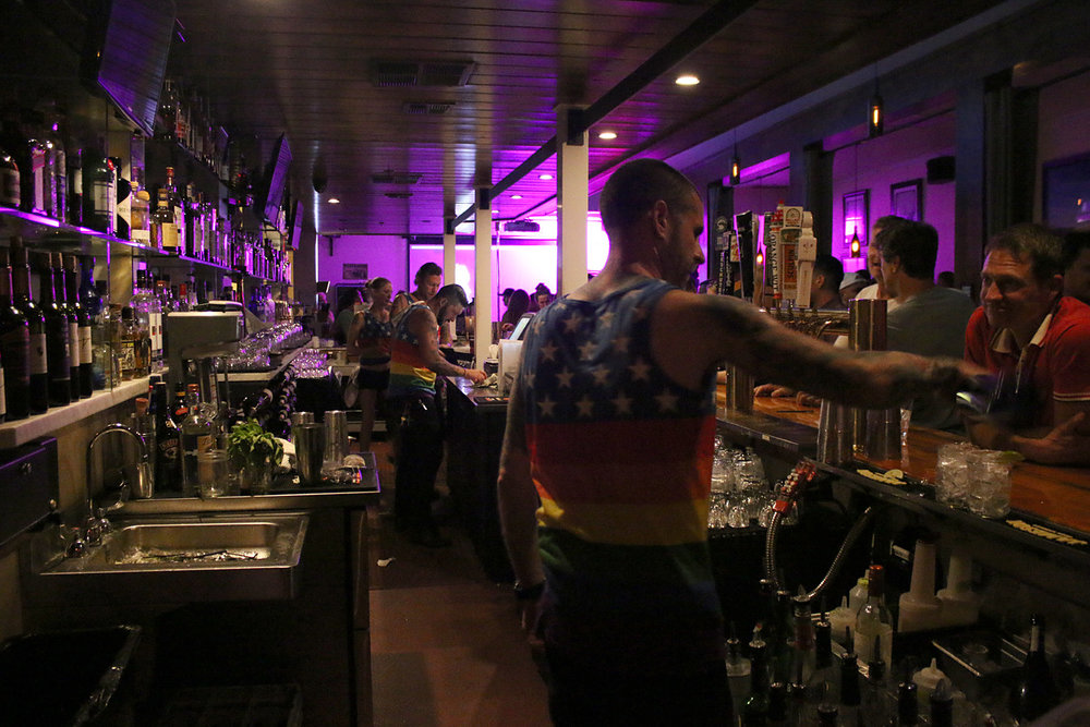 Pop-Up Video Gay Bar on Sonoma Square - 9:30pm - No Cover   We'r popping up Sonoma annual gay bar on the historic Sonoma Plaza for opening night of Gay Wine Weekend!  Join us at  B&V Whiskey Bar & Grille  for our kick off celebration!  No host bar. No cover. 9:30pm to close.