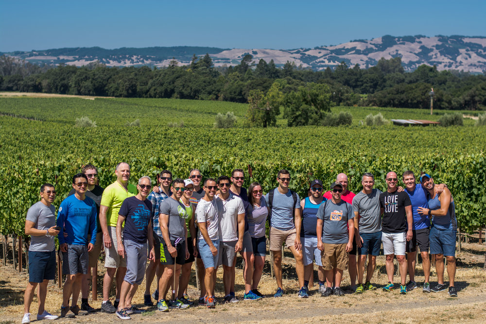 Saturday, July 21st   Out In The Vineyard Wine Tours & Lunch - 10am - 3pm - $95   Join one of our exclusive wine tasting tours to some of the best producers in Sonoma. Departing from our host hotel, you'll venture to amazing wineries for intimate wine tasting and a box lunch Out In The Vineyard!                                      GET DETAILS