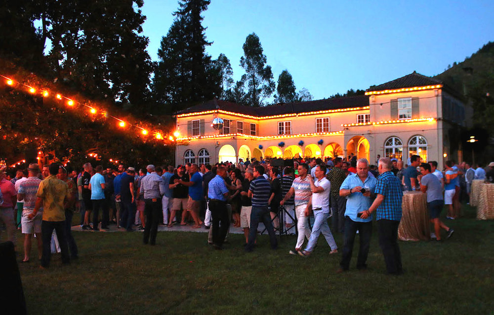 """Twilight T-Dance @ Chateau st.jean winery! 5PM -10pm   A benefit for Face to Face, Sonoma County AIDS Network  VIP Reception 5:00pm - 7:00pm/T Dance 6:30pm - 10:00pm  Join us on Saturday Night in the Heart of Sonoma Valley for our not-to-be missed Signautre Event of Gay Wine Weekend!   """"Apres-t"""" after party!11pm - late   The party continues with little bites and no host bar."""