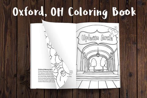 Oxford Coloring Book Fb 1