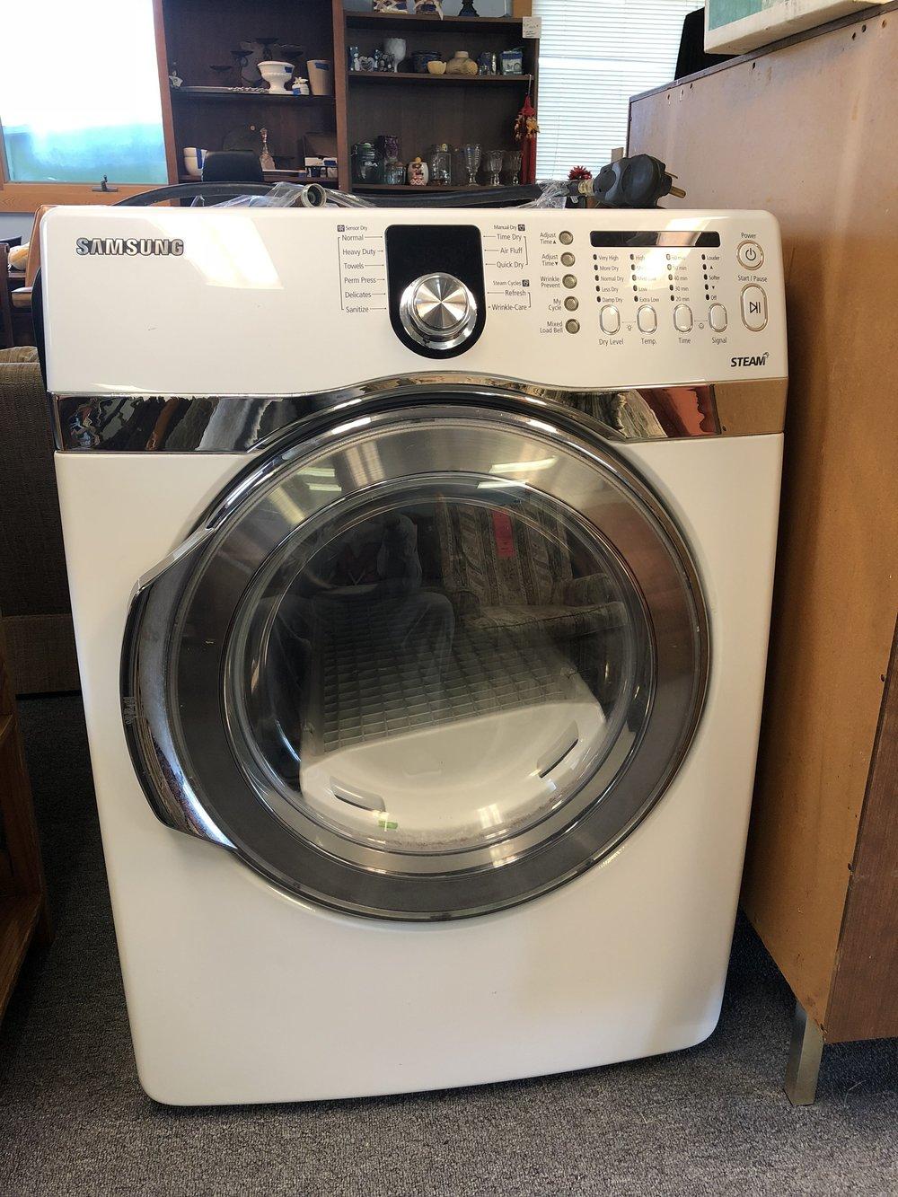 Samsung Steam Dryer, good condition; Price: $100.00