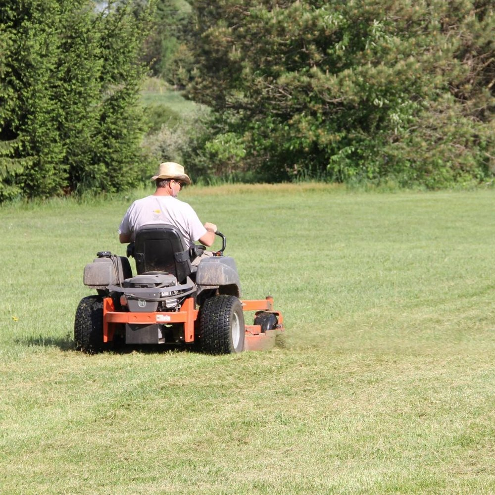 One of our biggest needs is our mowing crew. We have a lot of grassy land at SON-Life, and our volunteers help us keep it looking great for our summer programming.