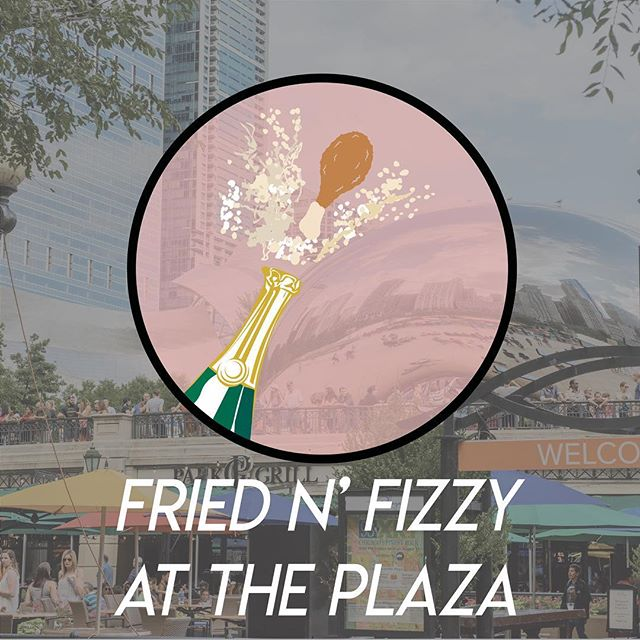 Introducing the Park Grill and Plaza's newest summer event. FRIED N' FIZZY ON THE PLAZA! Try a variety of fried chicken styles all paired with bottomless champagne! Tickets start at $25 and are on sale now! Visit bit.ly/fnfonplaza or our website for tickets.  #finedining #friedchicken #champagne #chicagofoodauthority #magnificentmile #festival #foodforfoodies #chicagofood #culturalmile #chicago #summer #summernights