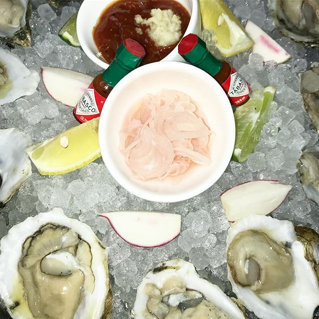 Add some sunshine to your Friday with $1 East Coast Oysters!