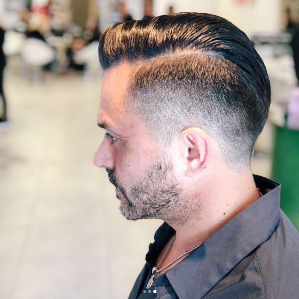 Mens SHAMPOO, CUT & Styling - We study individual features, characteristics and personal style, applying each cut and color with careful consideration and precision, creating the ultimate individualized look that's effortlessly sophisticated.