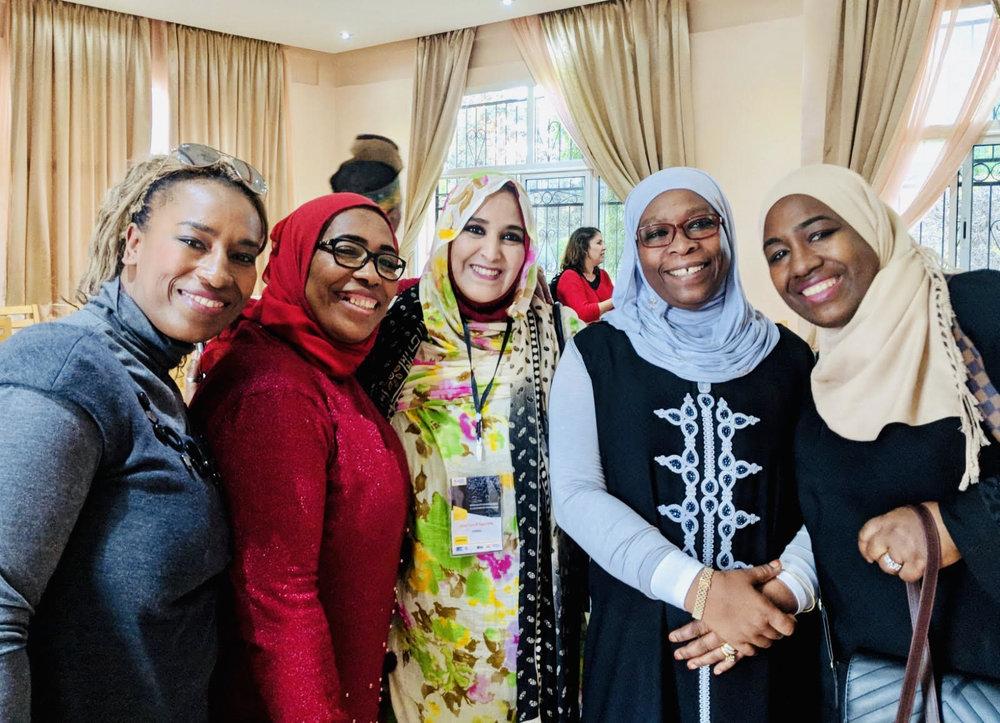 Women in Migration Network (WiMN) workshop attendees, Marrakech 2018