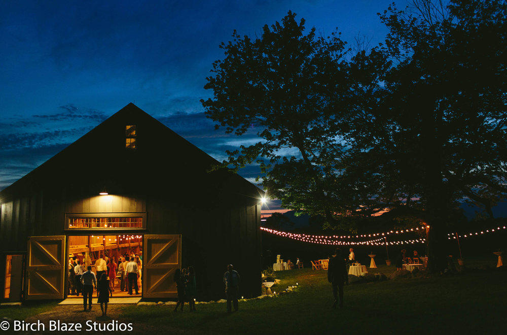 Barn Wedding Lakes Region Whiteface Hollow