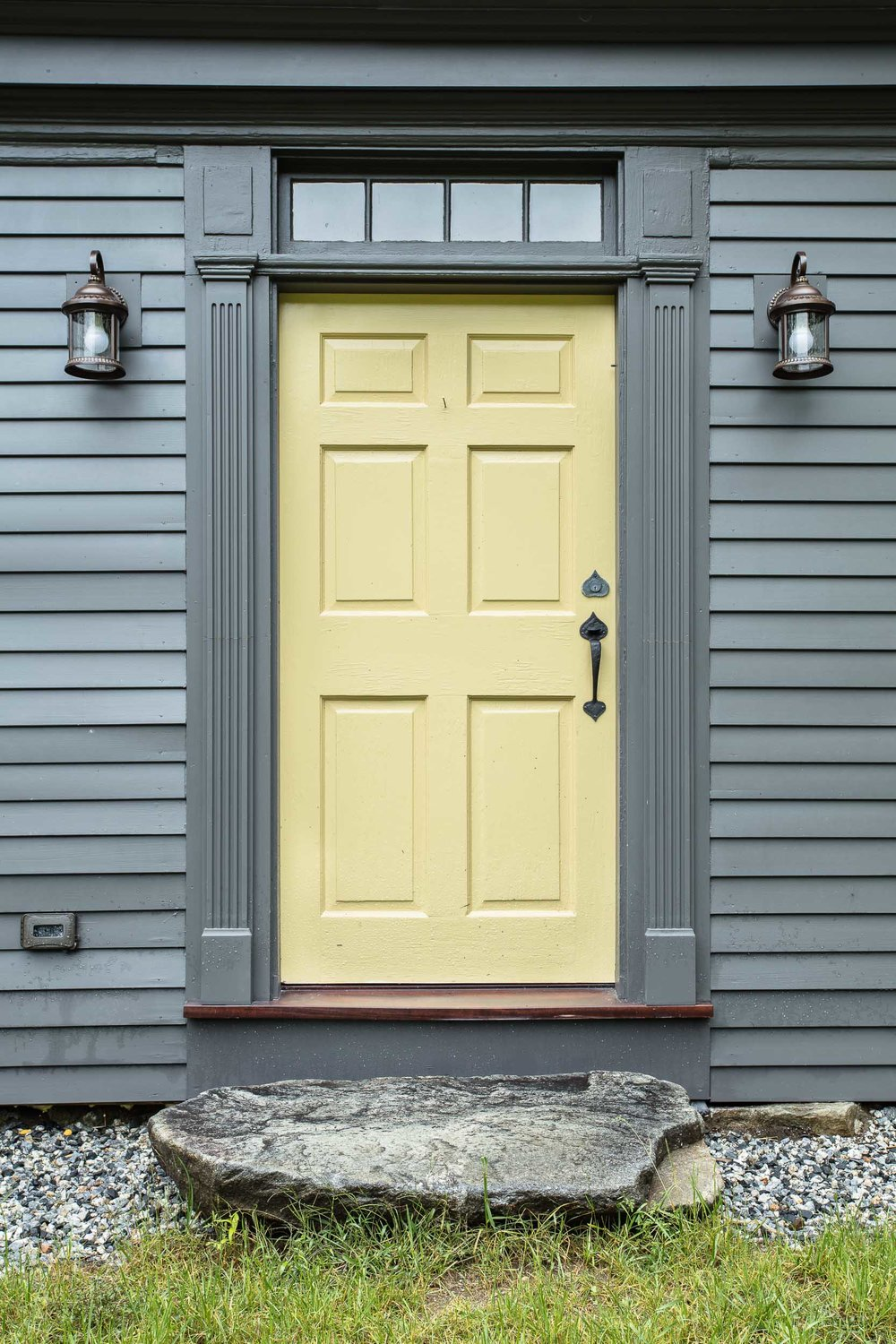 Front Door Early American Farmhouse