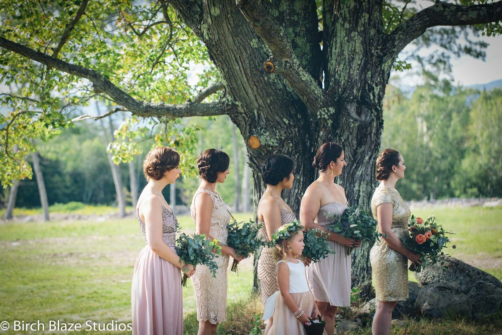 Outdoor Wedding at Whiteface Hollow