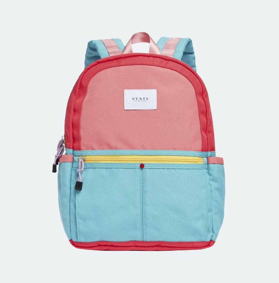 Kane Color Block BackPack $65, StateBags.com