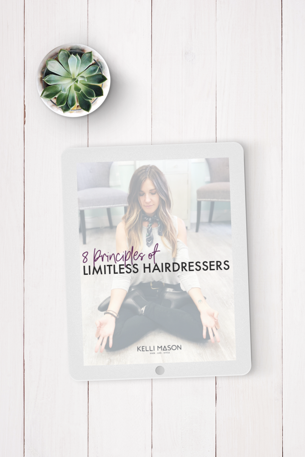 The 8 principles of being a limitless hairdresser were born.  These are basis of my teachings and serve as the core of all that will be to come.