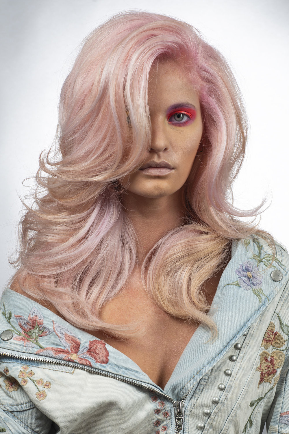 I entered created my first color collection for NAHA