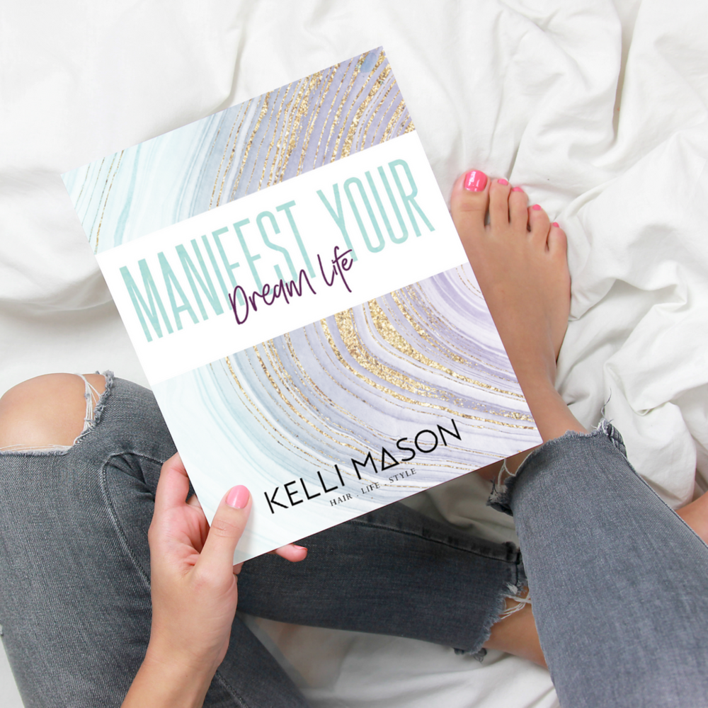 I created and launched my FREE manifest your dream life workbook.  This was the foundation of everything I have been creating and ultimately led to Limitless Hairdresser.