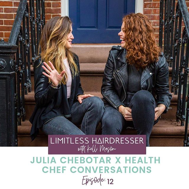 We spent a few months on the road in cities all across the US last fall. We brought beauty and health together as we shared our passion for food, wellness meditation and HAIR for a special Conscious Haircoloring tour! ⠀ ⠀ You will love @healthchefjulia's sense of humor and how she simply breaks down how to live a healthier lifestyle. ⠀ ⠀ 🎧Plug into the episode because it's filled with lots of laughs and amazing tips! Link in bio!! ⠀ Do you want to live a healthier lifestyle while behind the chair? 👇🏻👇🏻⠀ ⠀ #LIMITLESSHAIRDRESSER⠀ #LHambassador