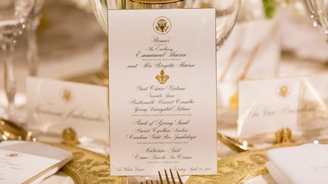2015 Evenstad Reserve Chardonnay Served at the White House