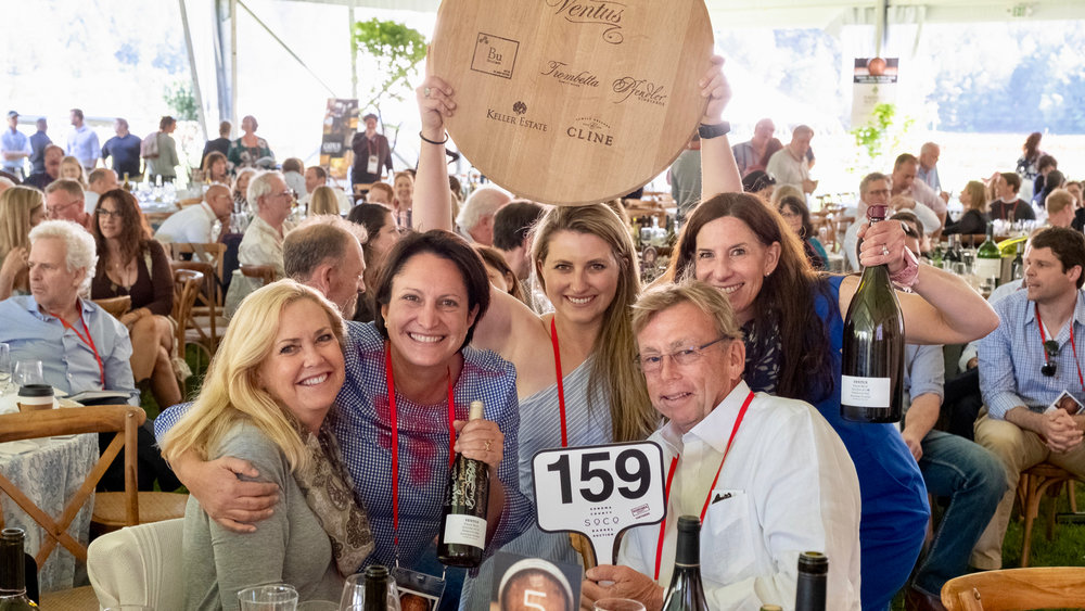 Sonoma County Vintners Pay Tribute to Wildfires Heroes at Barrel Auction