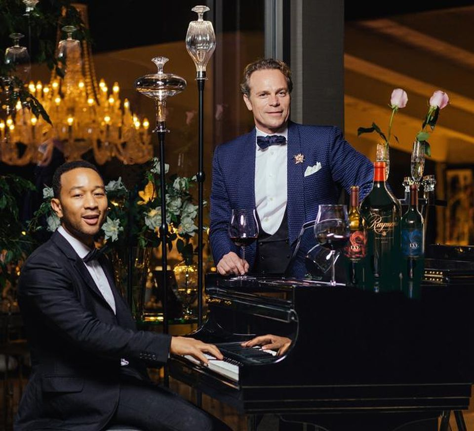 Making Wine With John Legend And Vintner Jean-Charles Boisset In Napa Valley